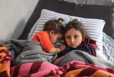 Hesnaa 2 lat i Rehef 5 lat siostry Keno Gubele 28 stycz