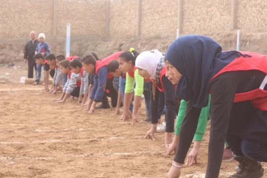 międzyszkolme zawody sportowe w Manbij pazdz 2017