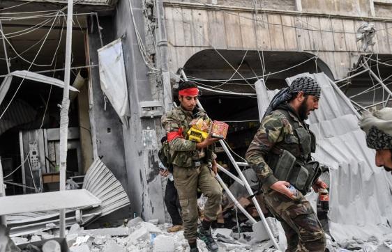 SYRIA-TURKEY-CONFLICT-AFRIN